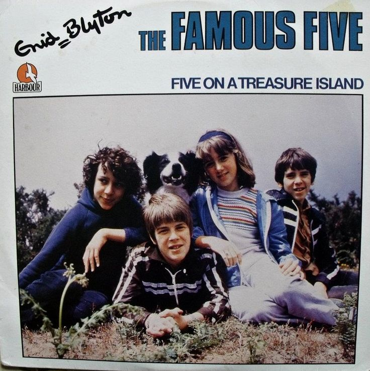 Five on a Treasure Island LP