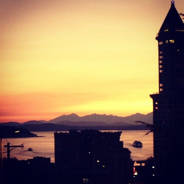 Seattle has grown into a very exciting and diverse city.  I like that this city has a large lake and a range of mountains on the east and a saltwater sound and a large range of mountains on the west.  There is always a lovely view when you are in this city.