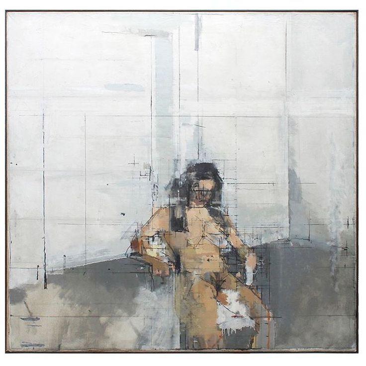 Kay Vinson , Pilar in the studio, Slade School of Fine Art