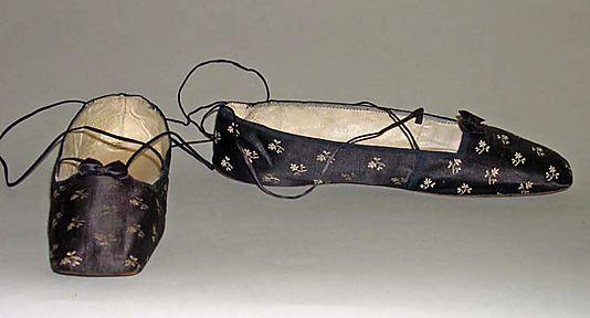 Slippers 1835, British