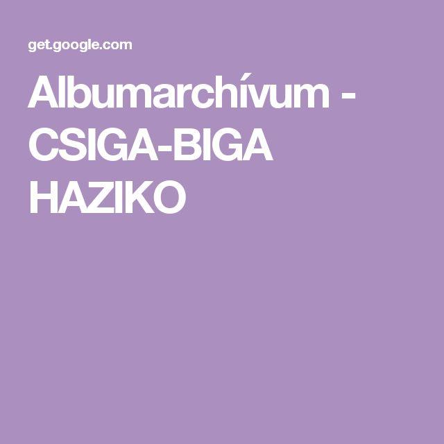 Albumarchívum - CSIGA-BIGA HAZIKO