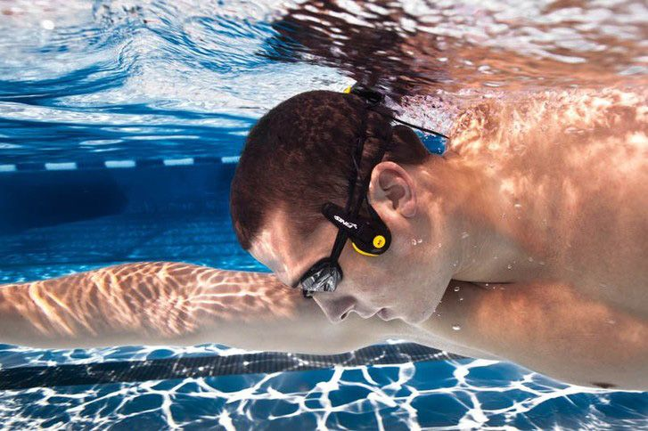Underwater MP3 Player Lets You Listen To Music With Your Cheekbones #technology