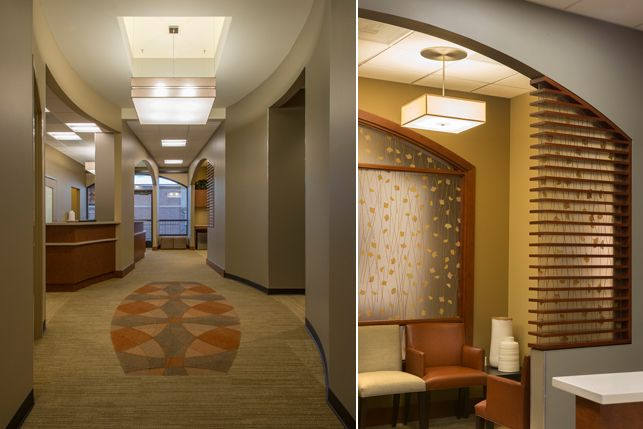 Orthodontics office Interior design and Architecture - Aspen Park Dental - Lynne Thom Architects