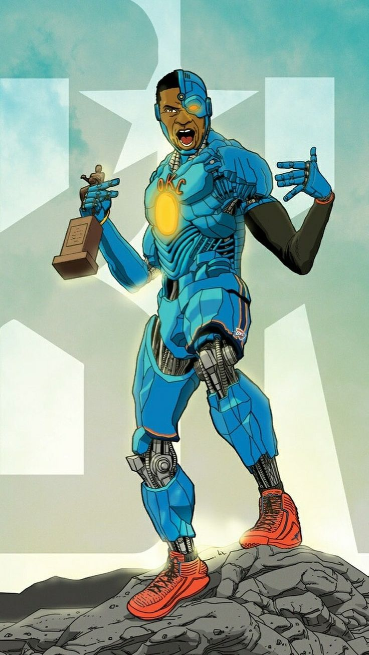 Russell Westbrook as Cyborg
