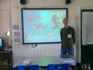 Andrew Buller, author of The Rhymers, visits Chatham & Clarendon School
