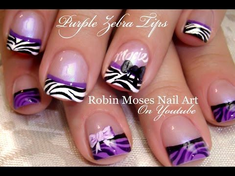 Robin Moses Nail Art: Hot Pink Nails with Black and Silver Zebra Animal  print Nails - Best 25+ Zebra Print Nails Ideas On Pinterest Zebra Nail Designs
