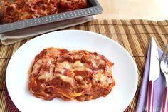 Nidi di tagliatelle al forno, scopri la ricetta: http://www.misya.info/2014/09/21/nidi-di-tagliatelle-al-forno.htm