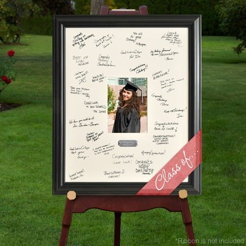 Celebration Graduation Signature Frame for everyone to sign. Great keepsake for the grad!