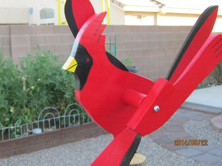 Cardinal Whirligig Whirlygig Windmill Craft Pinterest