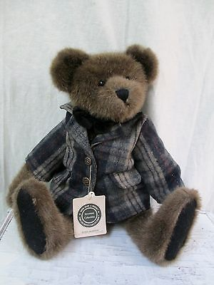 "Brand new with tags BOYDS BEARS ""WESLEY BEARIMORE"" plush toy / stuffed animal. Measures approximately 14 inches tall, part of the Archive Collection. Well dressed! Investment collectible - original pr"