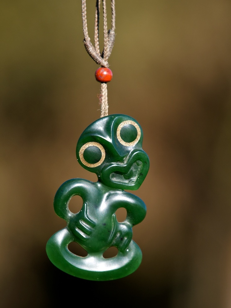 New Zealand Tiki I've got one of these! A jade tiki