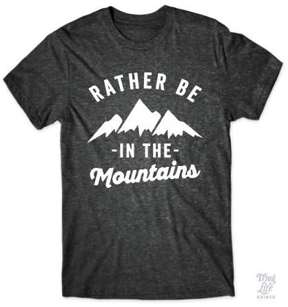 Rather be in the mountains!