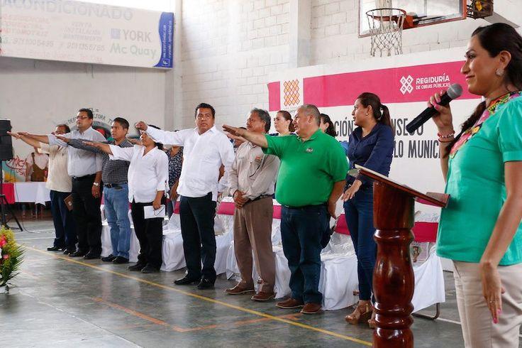 Integra Ayuntamiento de Tehuantepec el Consejo de Desarrollo Social Municipal