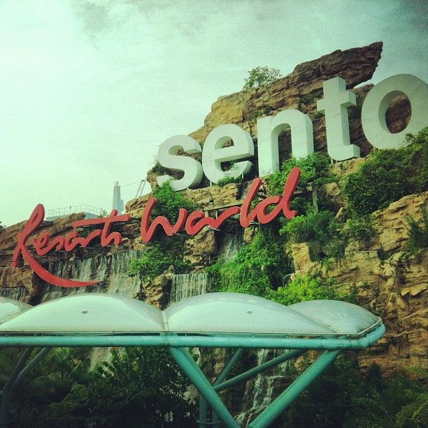 Resorts World Sentosa in Sentosa Island