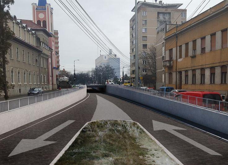 Pasajul Magheru, noual pasaj subteran din Oradea (FOTO)