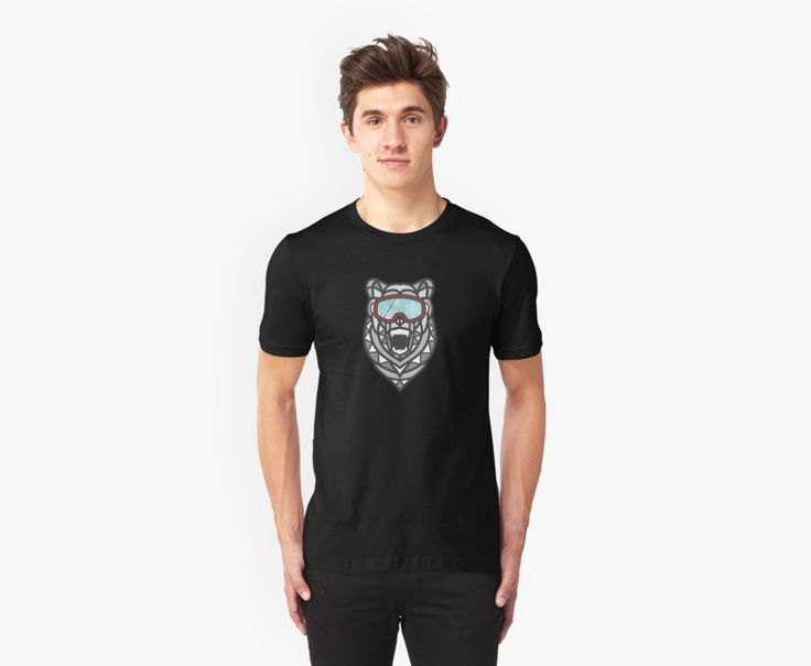 Check out our Polar Bear madness unisex T-shirt here!