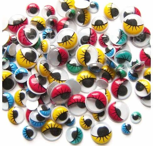 131 best art and craft with googly eyes images on for Craft eyes with lashes