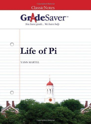 GradeSaver (TM) ClassicNotes Life of Pi: Study Guide by Alice Cullina. $7.99. Publication: December 31, 2008. Publisher: GradeSaver, LLC (December 31, 2008)
