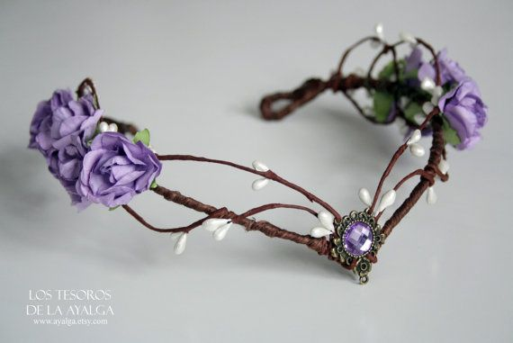 SHIPS IN 3 5 WEEKS elven bride tiara elven tiara by Ayalga