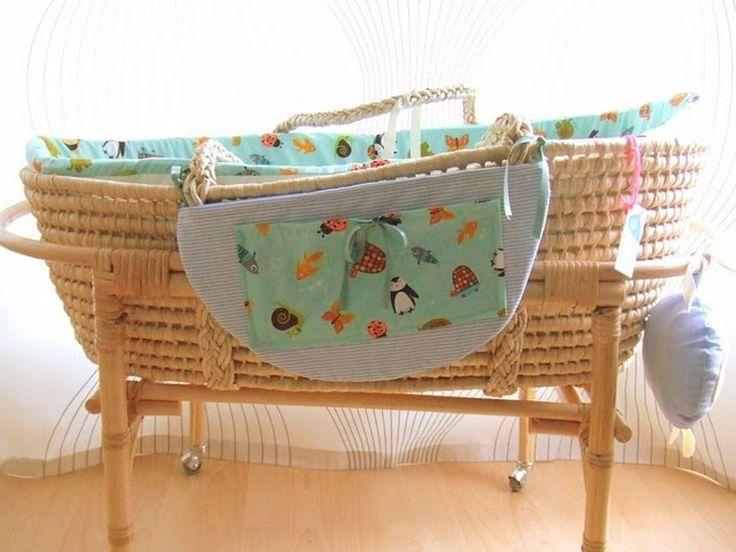 ¿Cómo hacer un moisés para bebé? Fácil y casi gratis