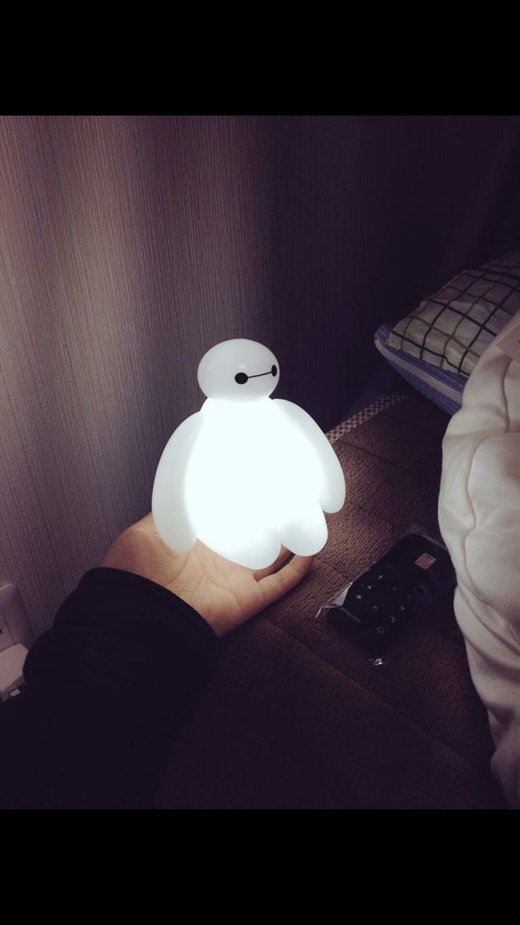 Big hero 6 credits scene they are not only books - Big Hero 6 Baymax Usb Led Lamp Nightlight