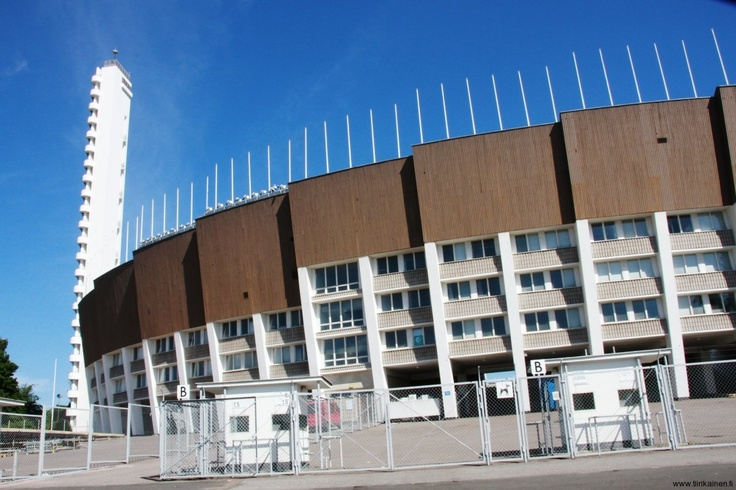 Our fine Olympic Stadium will soon be even finer due to a restoration and development project starting with a 200 million euro budget. This shot taken last Saturday along my biking trip around Helsinki.