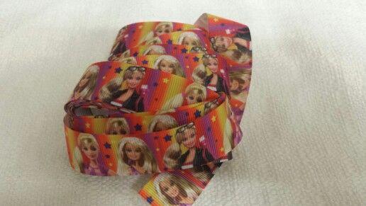 """1"""" Barbie Ribbon $1.20 per meter"""