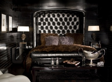 romantic gothic masculine bedroom, totally in love with the