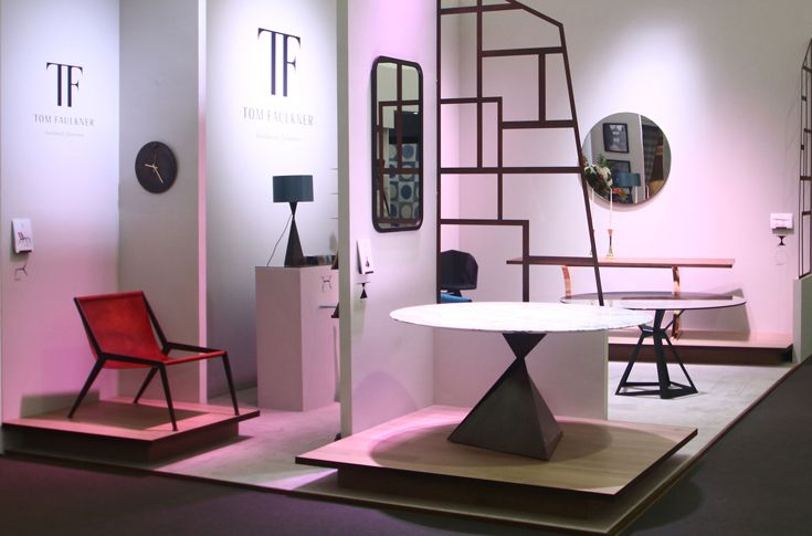 New #designs including the Berlin easy #chair, the Ava and Kite #dining #table and the Ava table #lamp.