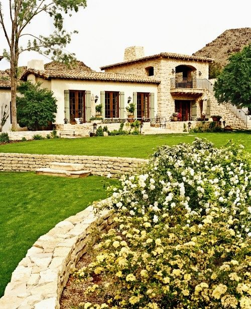 Mediterranean Ranch Style Homes: 69 Best Mediterranean Style Images On Pinterest