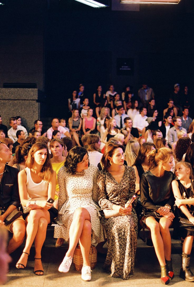 Front Row at Zuzana Kubickova MBPFW 2014
