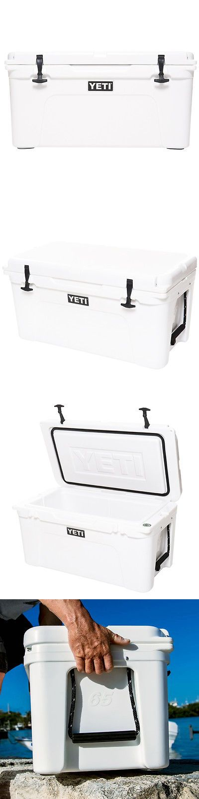 Camping Ice Boxes and Coolers 181382: Yeti 10065020000 65-Quart White Heavy Duty Tundra 65 Ice Chest Cooler - Yt65w -> BUY IT NOW ONLY: $399.99 on eBay!