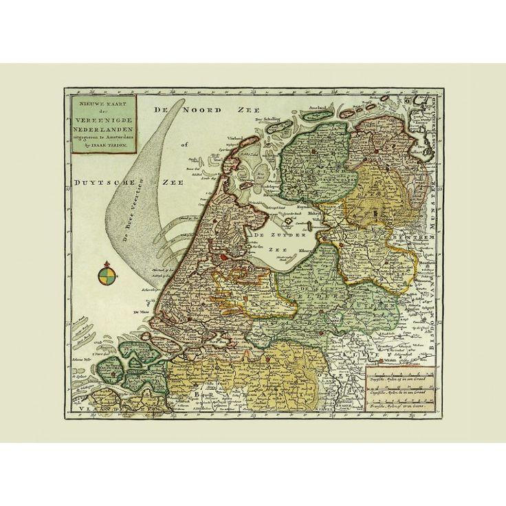 Vintage map of the Netherlands for printed on handmade paper. #map, #antiquemap, #vintagemap, #oldmap #historicalmap, #mapreproduction #mapreproductions #oldmaps, #vintagemaps, #antiquemaps, #historicalmaps #handmadepaper #maps, #netherlands, #nederland, #dutch, #mapdecor, #traveldecor #walldecor, #mapgifts