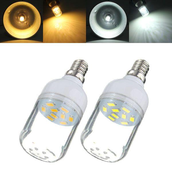 Wholesale Price Free Shipping E12 Led Bulbs E12 3w White Warm White 9 Smd 5730 Led Light 300lm Spot Corn Bulb 220v Led Lights Led Light Bulbs Bulb