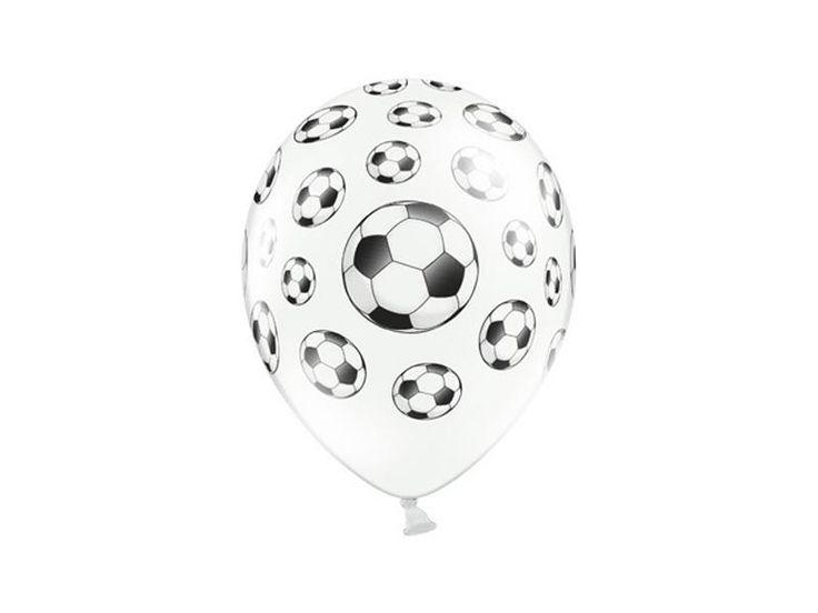 Balon urodzinowy Piłki nożne