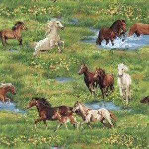 Horses Nature S Corner By Fabri Quilt