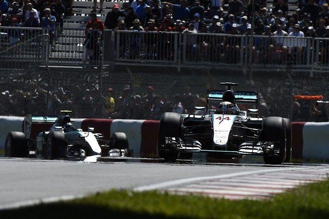 Hamilton e Rosberg, doppietta Mercedes al GP del Canada. Bottas 3°, poi le Ferrari. Che noia…