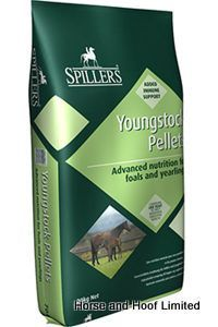 Spillers Youngstock Pellets 20kg Spillers Youngstock Pellets are suitable for growing horses or ponies from 2 weeks to 2 years of age.