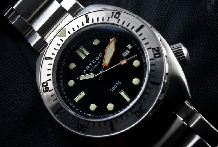 Artego 300m Diver   Cool Watches   Pinterest