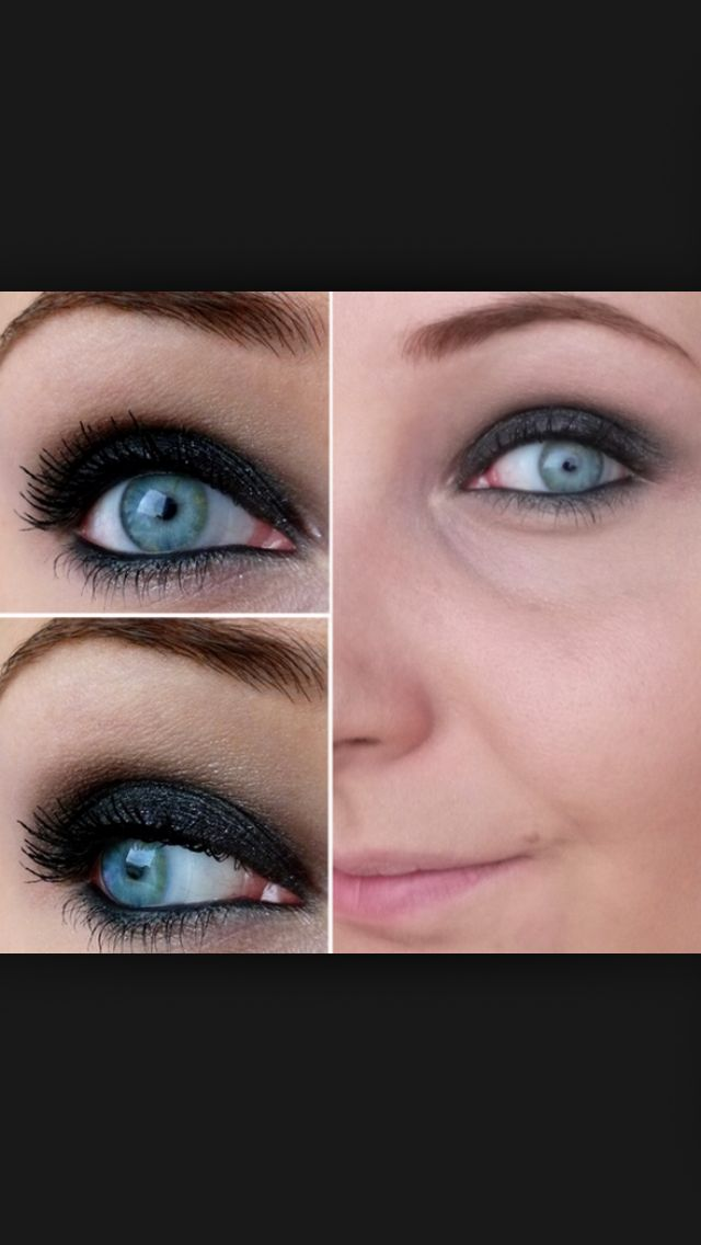 17 meilleures images propos de maquillage yeux bleus sur pinterest smoky eye fard. Black Bedroom Furniture Sets. Home Design Ideas