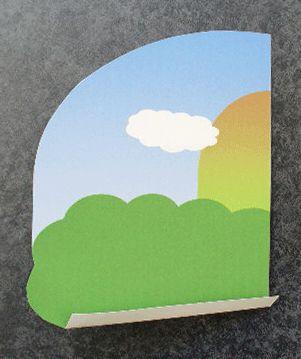 飛び出す絵本・しかけ絵本の作り方 絵本を組み立てる2-4