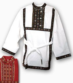 Traditional Russian shirt for men