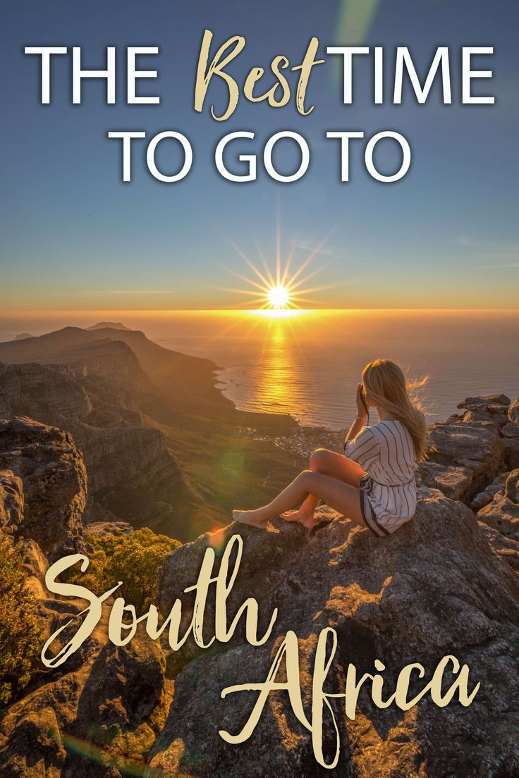 When to go to South Africa
