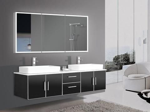 Dimmable Lighted Bathroom Cabinet Galaxy  60x28 in Available 30th November Pre order now