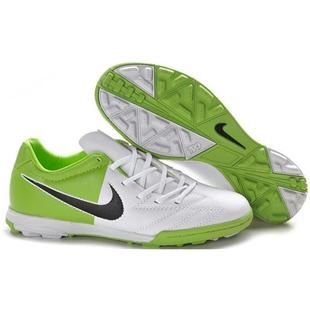 http://www.asneakers4u.com/ Nike Total 90 Shoot IV TF Astro Turf In White Green Black Men Football Cleats