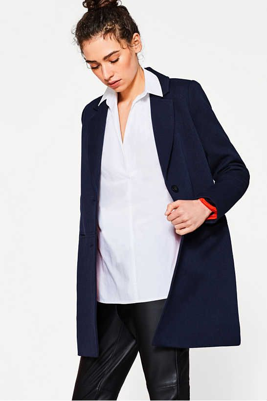 Esprit - Slip-over-Bluse aus 100% Baumwolle im Online Shop kaufen