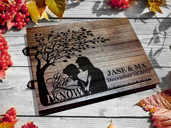 Wedding Guest Book I Love You Know Star Wars Gift Custom