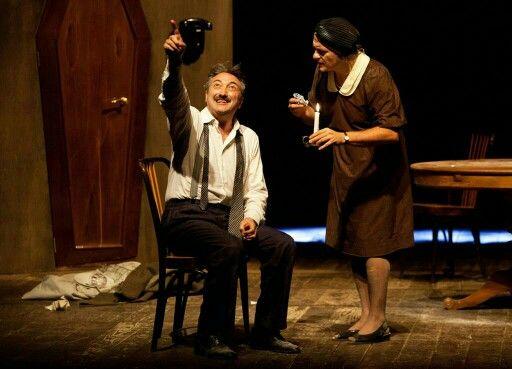 Dolore sotto chiave, Edoardo de Filippo, Teatro Uniti Napoli