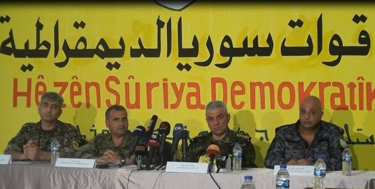 #Media #Oligarchs #MegaBanks vs #Union #Occupy #BLM #Rojava  Hundreds of Syrian rebels join the pro-Kurdish SDF alliance   http://aranews.net/2016/10/hundreds-syrian-rebels-join-kurdish-arab-alliance-sdf/   A Free Syrian Army (FSA) brigade joined the Syrian Democratic Forces (SDF) on Thursday. The SDF is an alliance of Kurdish, Arab, Assyrian and Armenian militias that have been fighting the Islamic State (ISIS) in northern Syria.  In a press conference in Hasakah city, the Free Officers…