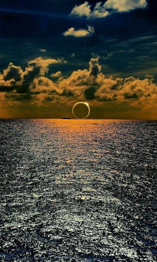 #Breathtaking #SolarEclipse on the horizon!                                                                                                                                                                                 More